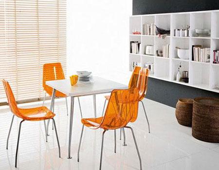 Купить стулья на кухню красивые современные металл фото цены